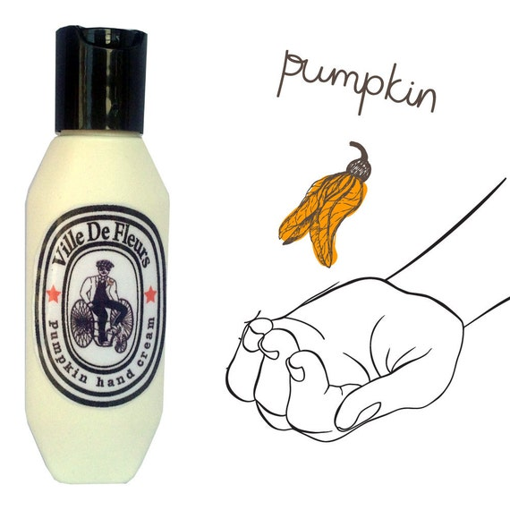 Vegan father's day gifts: Vegan Pumpkin Hand Cream