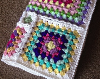 Pattern - BabyLove Brand Gelato Blanket - Crochet Pattern/Tutorial - kids toddler baby adult - rectangle throw - blanket is also available