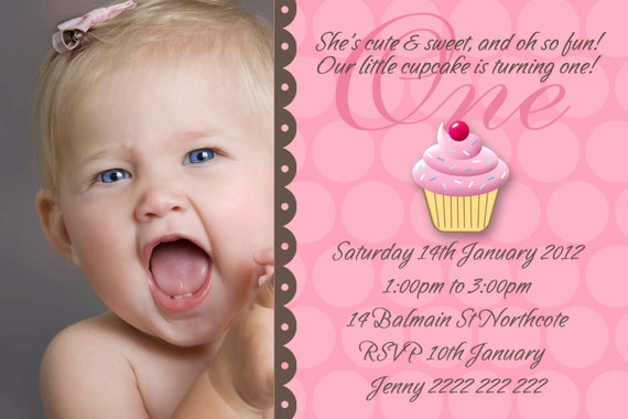 Baby Girl First Birthday Invitations correctly perfect ideas for your invitation layout
