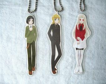 Fate Zero Key Chains (Set of 3)