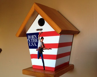 Bruce Springsteen Birdhouse