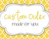 Custom Order Listing for Sender: Enjoli