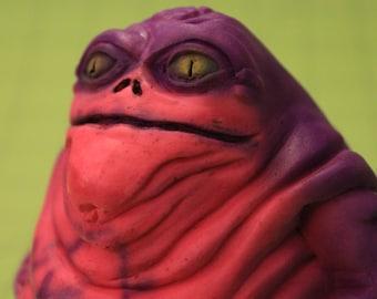 Airbrushed Star Wars Ziro the Hutt Figure (Clone Wars)