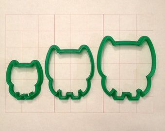 Owl  Cookie Cutter - Various sizes / Set
