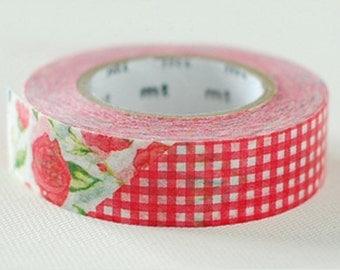 MT RED Rose  Washi Tape
