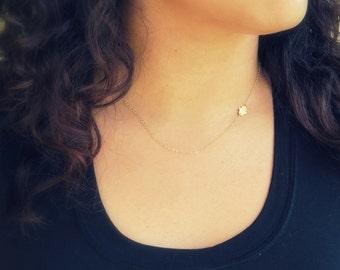Gold Hamsa Necklace, Sideways Hamsa Necklace, Hamsa Charm, Sideways Hand Necklace, Gold Hamsa Pendant, Gold Hamsa Necklace, Fatima Hand