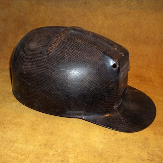 Vintage Msa Comfo Cap Coal Miners Helmet With Liner From