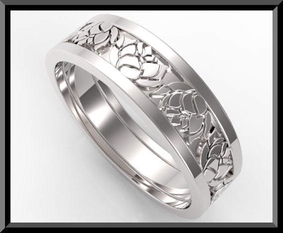 like this item - Lotus Wedding Ring