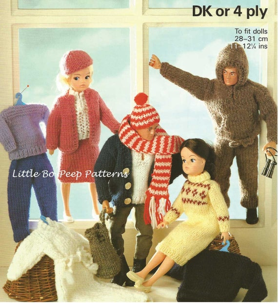 Free Knitting Patterns For Action Man Dolls : Fashion Doll Sindy Barbie Action Man Ken outfits clothes to
