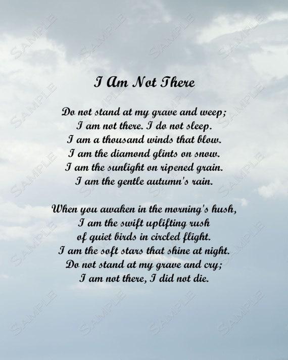 how to write a i am i am not peom