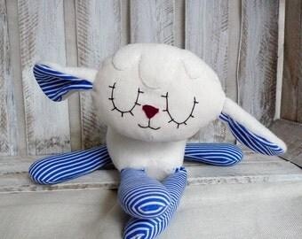 Stuffed Animal Cute Lamb Cotton Safe Soft Softie BabyToy Cotton Sleep Sheep Toy cuddle toy