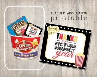 Unique Teacher Appreciation Printable Gift Card - Instant Download