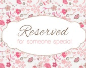 Reserved for aross82 Big Bloom Bouquet & Bridal Party Package