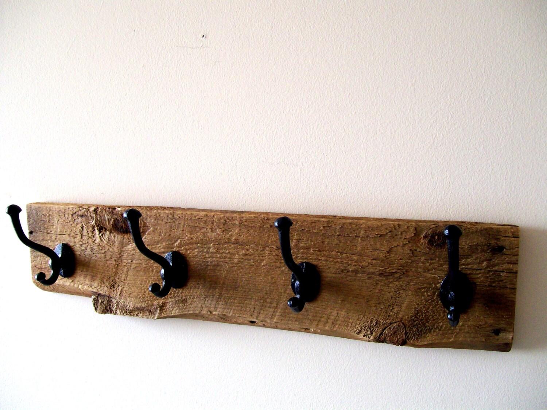 Wall Hung Coat Rack Hat Rack Key Rack By Thebarnyardshop