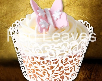 150pcs Lace cupcake wrappers