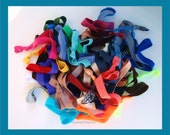 3 MYSTERY sets of Hair Ties, AWESOME DEAL, Hair Bands, Yoga wraps, Athletic Sports Teams, 5k, Marathon Run,
