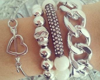 Chain Bracelet -Chunky Large Chain Link Bracelet - Chain bracelet