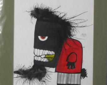 Attitude Original Monster Art