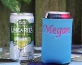 Custom Embroidered Lime-A-Rita Can Coozies