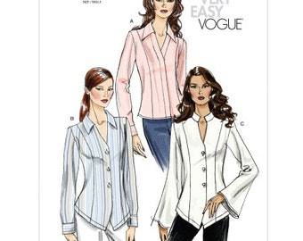 Vogue 8322  Very Easy Misses Shirt 16-22