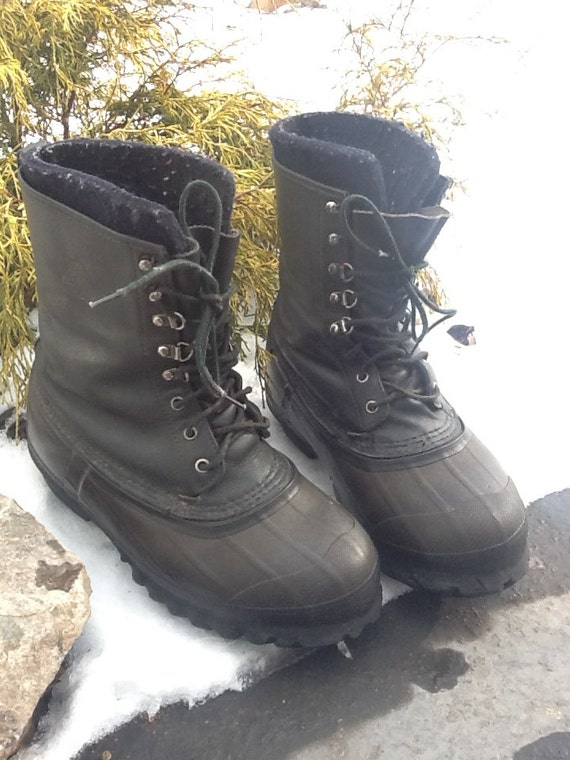 Lacrosse Iceman Winter Snow Boots Mens Size 11 Snowmobile