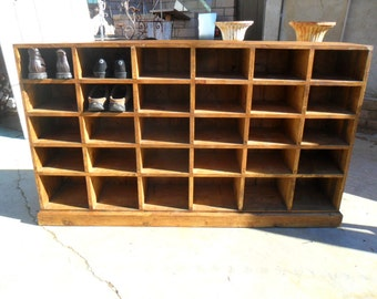 SHOE CABINET from reclaimed wood USA made