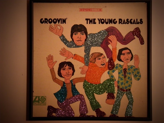 Glittered Record Album - The Young Rascals - Groovin'