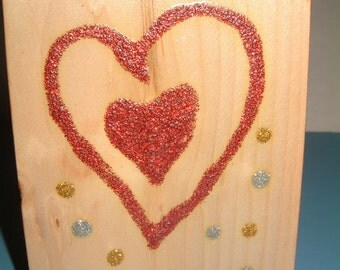 You Will Always Be Mine -- Happy Valentine's Day Wooden Greeting Card