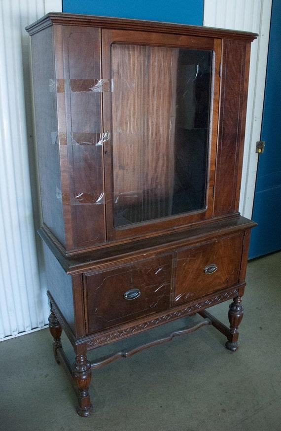 Antique Victorian China Curio Cabinet