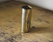 Gold Lipstick Case with Mirror