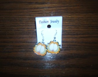 Garfield Fashion Pierced Earrings - Brand New - Item GF1