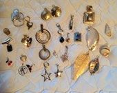 26 pendants for your necklace or bracelet.