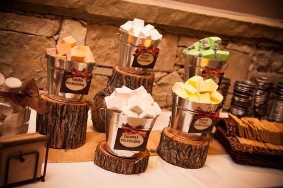 Items Similar To Rustic Wedding Decor Wood Slice