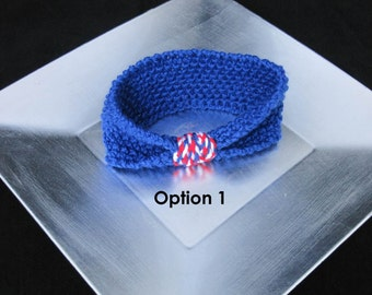 Fourth of July / USA Themed Knit Headband--All Sizes