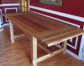 White Oak Farmhouse Table