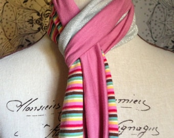"Girls Multi-Colour Scarf. This Design is Called the ""Olivia"""