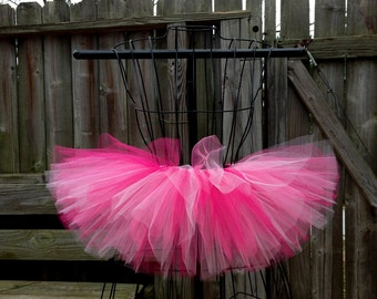 Elle Tutu - Pink Tutu - Birthday Tutu - Available in Infant, Toddlers, Girls, Teenager, Adult and Plus Sizes