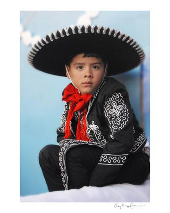 Items Similar To 11x14 Photograph Young Mexican Boy