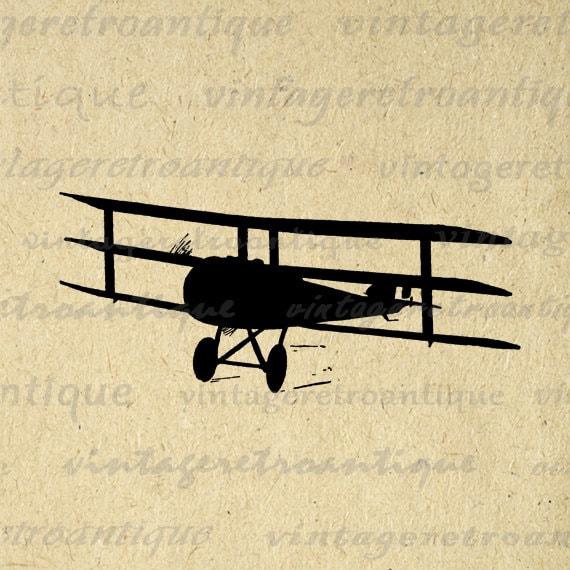 vintage airplane clipart - photo #38