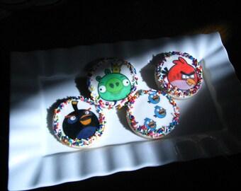 Angry Bird Cookies- 1 Dozen