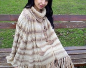 Hand Knitted Poncho,Knitting custom poncho, knitted vest ,Stylish knitted cloak, knitted cape,women's clothing, knitted accessories
