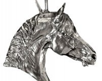 Large Horse head charm, pendant, key chain, whatever you desire.  Equestrian jewelry