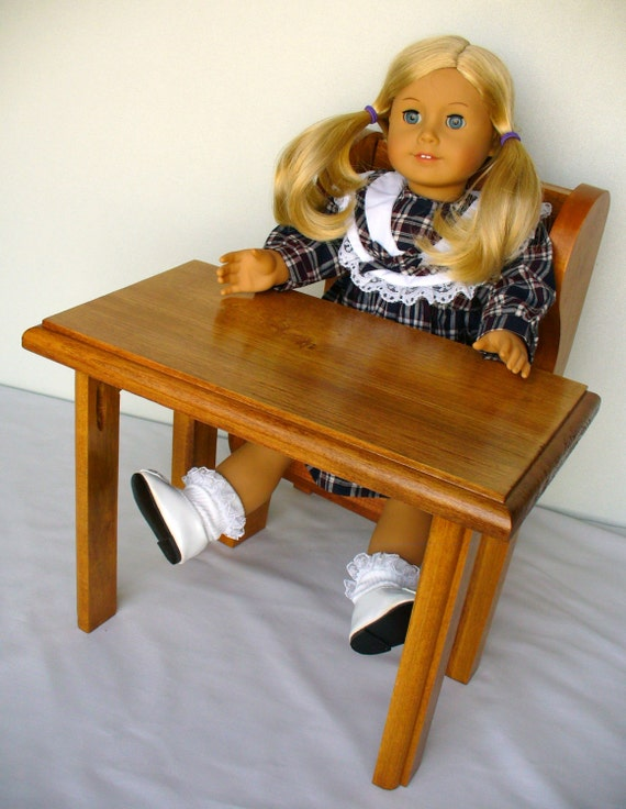 American Girl Doll School Desk Or Table And Chair