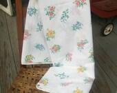 Cannon Dura-Soft FULL FLAT Sheet Floral Sampler