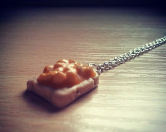 Beans on Toast Necklace