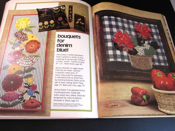 Knitting Quilt Magazine : Mccall s craft book needlepoint knitting