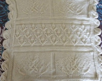 Tree of Life Baby Blanket