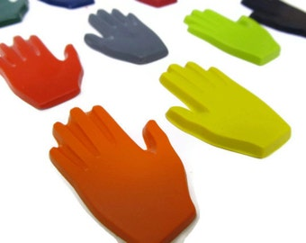 Hand crayons set of 20 - party favors