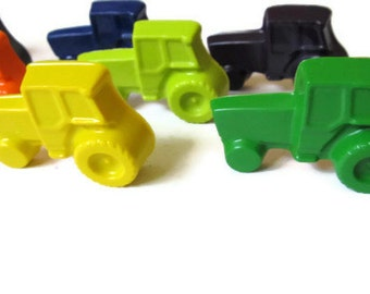 Tractor Crayons set of 20 - party favors - farm