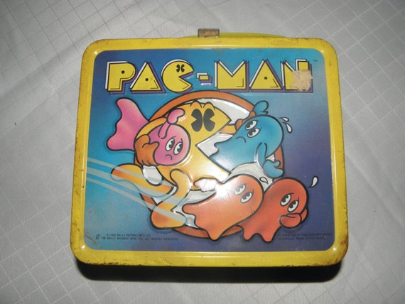Pac Man Lunch Box with Thermos